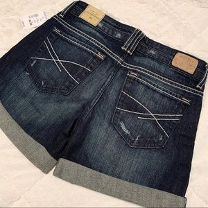 Aeropostale Denim cuffed shorts